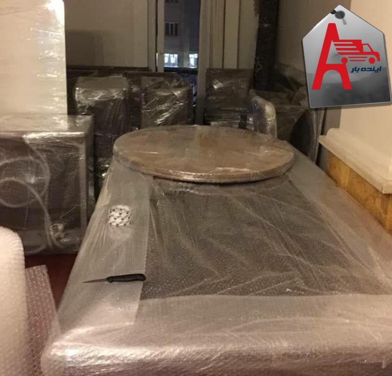 بسته بندی و اثاث کشی مبلمان