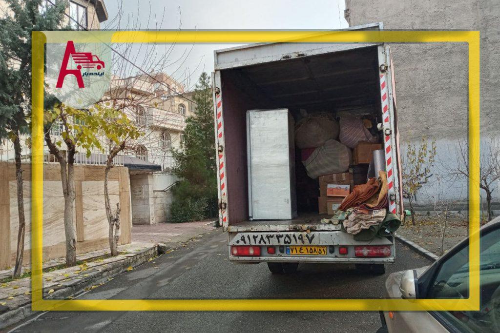 باربری خاقانی شرکت آینده بار در مرکز تهران