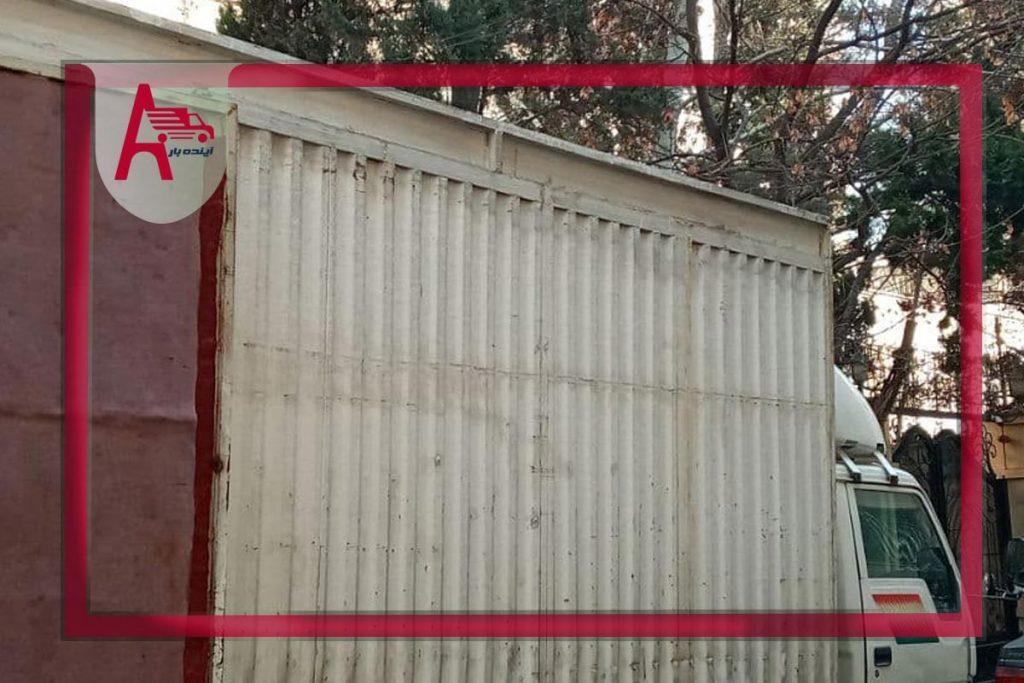 باربری مجیدیه شرکت آینده بار در شرق تهران