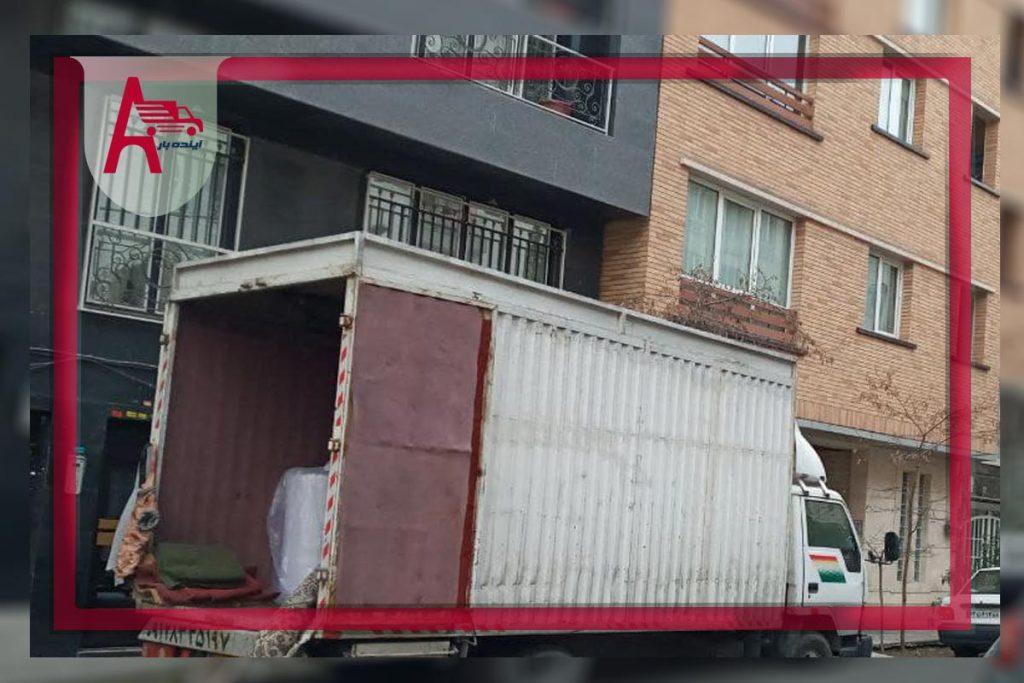 باربری چیذر شرکت آینده بار در شمال تهران